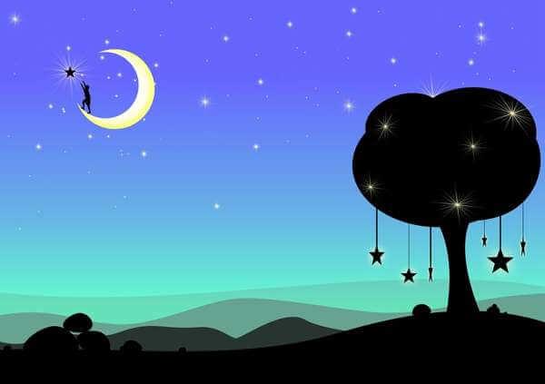 Обряд на исполнение желаний на молодую луну