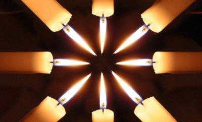 Обряды со свечой