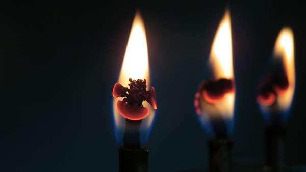 Церковные свечи для снятия венца безбрачия