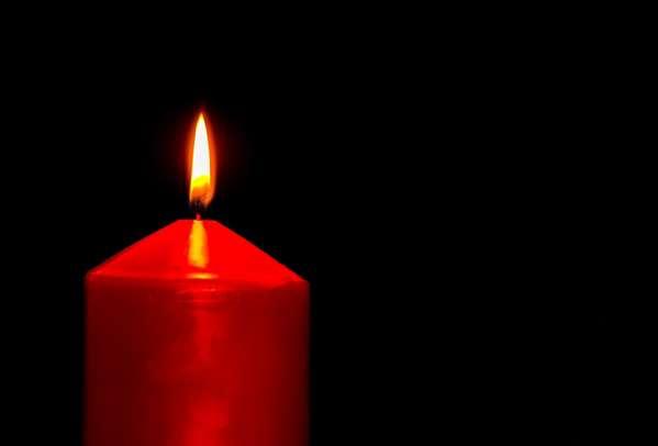 Заговор на выигрыш в лотерею с красной свечой