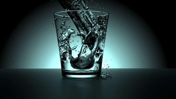 Обряд на похудание с водой